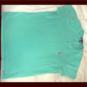 Mint green polo tshirt